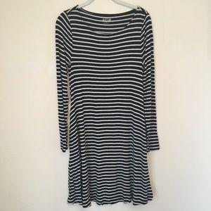 Apt 9 Striped Swing Dress